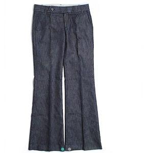 Gap EUC Dress denim, straight fit w/ flared leg
